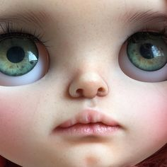No editing. #tiinacustom #customblythe #blythedoll