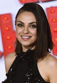 Mila Kunis attends the premiere for A Bad Moms Christmas in Los Angeles on October 30, 2017.