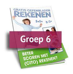 Rekenoefeningen groep 3 - gratis werkbladen groep 6 (PDF)