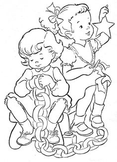 Coloring Book~Blue Boys' Coloring Book - Bonnie Jones - Picasa Web Albums Free Kids Coloring Pages, Mandala Coloring Pages, Coloring Pages To Print, Coloring Book Pages, Coloring Pages For Kids, Vintage Coloring Books, Christmas Coloring Pages, Painted Books, Christmas Embroidery