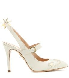 Charlotte Olympia - Spur Of The Moment leather pumps - mytheresa.com