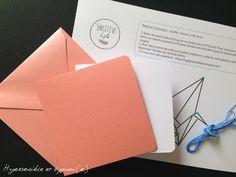 Kit carte à broder grue origami  DIY  couleurs au par SensitiveLife
