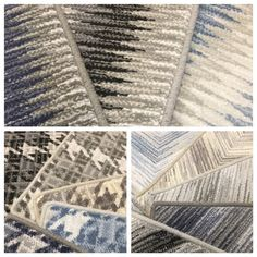 New patterns from Ulster.  Offered as wall to wall installed carpet or area rugs of any size.  Purchase at Hemphill's Rugs & Carpets www.RugsAndCarpets.com