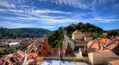 Sighiaoara – Colorful Count Dracula's Hometown in Romania