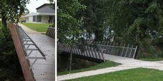 Christian LARROQUE Architectes ASSOCIES  Parc Jehan Buhan - Gradignan Architecture Paysage Sidewalk, Deck, Outdoor Decor, Home Decor, Senior Living Homes, Urban Planning, Architects, Park, Decoration Home