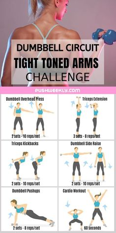 Say good-bye to flabby arms with an arm fat workout at home. Take 15 minutes to tone and tighten your arms in order to get rid of flabby arms fast. This workout is for you if you want to lose arm fat… Arm Workouts At Home, Body Workout At Home, At Home Workout Plan, Easy Workouts, Arm Toning Workouts, Workout Plans, Flabby Arm Workouts, Exercise For Flabby Arms, Arms And Back Workout At Home