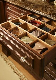 Drawers Of Belt Storage Ideas For Men Wardrobe Drawers, Wardrobe Closet, Master Closet, Master Suite, Belt Storage, Closet Storage, Closet Organization, Organization Skills, Closet Organizer With Drawers