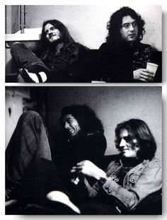 Jimmy Page and John Paul Jones Great Bands, Cool Bands, Peter Paul And Mary, Led Zeppelin Iv, Strawberry Fields Forever, John Paul Jones, John Bonham, Old Rock, Greatest Rock Bands