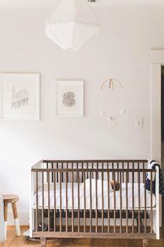 #nursery, #crib View entire slideshow: 20 Modern Nurseries on http://www.stylemepretty.com/collection/359/