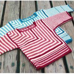 BOLSJE strikket på pind 4 - Garn og opskrift