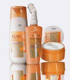 Oriflame HairX Summer Care - Gama   formulada com o Complexo UV Forte+ para proteger o cabelo dos factores prejudiciais a que está exposto principalmente durante o Verão: Sol, água do mar, etc. Para um cabelo sedoso, brilhante e saudável.