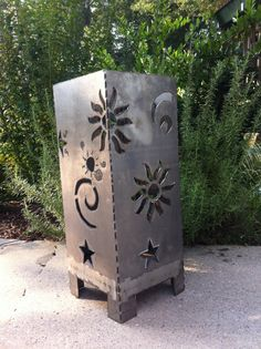 Outdoor Fire PitCelestial Sky25 by AlizeMetalWorks on Etsy, $125.00