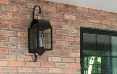 Brass Traditions Wall Lantern in Flat Black
