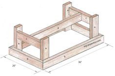 Pine coffee table plans Mar 21 2013 Pete shows how to build a farmhouse style co… - Interior Decoration Accessories coffee tables Farmhouse Style Coffee Table, Pine Coffee Table, Farmhouse Table Plans, Simple Coffee Table, Coffee Table Plans, Outdoor Coffee Tables, Coffee Table Styling, Rustic Coffee Tables, Coffee Table Design