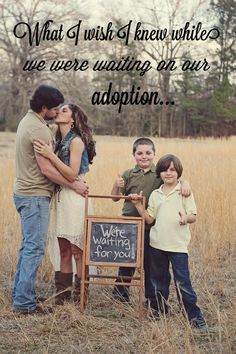 Recently, I asked some of my families who are on the other side of their adoptions what they wished they knew while they were waiting. Each of them who are done with the wait of their journey and have little ones in their arms. Here's what they said...