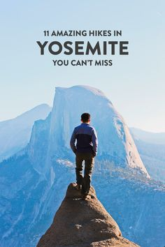 Taking a trip to Yosemite National Park? Save this pin and click to see details on the 11 best hikes in Yosemite National Park you shouldn't miss. These Yosemite hiking trails are also some of the best hikes in California and the US that you'll want to add to your hiking bucket lists. They take you to the park's most beautiful places and scenic views. // Local Adventurer #localadventurer #yosemite #california #nationalpark #visitcalifornia #visitca #findyourpark