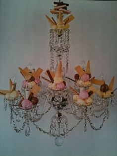 Ice Cream Chandelier by Tim Walker, 2006.