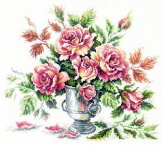 Набор для вышивания Чудесная игла 40-71 Розовая нежность