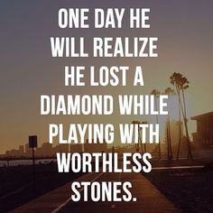 Yes he will, and I hope those stones give him whatever disease will make his dick shrivel up and fall off. . . . .