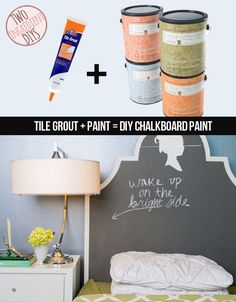 Make your own writeable chalkboard paint! It's easy! | 27 Insanely Easy Two-Ingredient DIYs