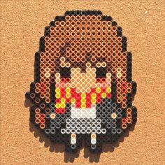 Hermione - Harry Potter perler beads by Tsubasa Yamashita