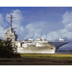 USS Yorktown in Charlestown SC. They also have a submarine you can go thru. Go see Fort Sumter and the Ghost Tour of the Charlestown dungeon.