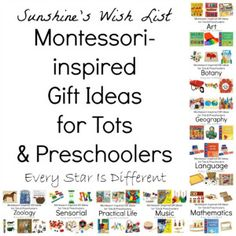 Montessori-Friendly Toys and Gifts for Infants and Toddlers