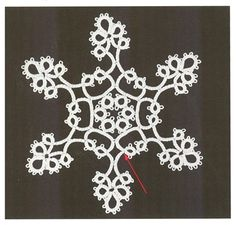 Tatting Ornament No 17 - Free pdf project