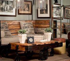 Tendencias de decoración 2014: Clásico, vintage, retro, industrial...