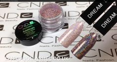 Flora & Fauna CND Collection Dream Lily Additive over Cream and Black Pool Shellac thank you #LiverpoolLashes