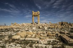 April 5, 2016 BRYAN DENTON FOR THE NEW YORK TIMES Where 'Ruins Have Been Ruined' by ISIS The Times photographer Bryan Denton traveled to the ancient city of Palmyra, Syria, on Saturday to document the destruction of archaeological treasures after a year of Islamic State control. The civilization blended Roman, Persian and local cultures. Page A4.