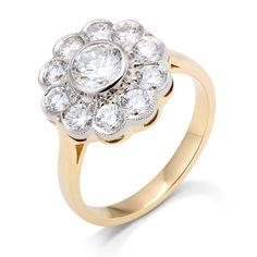 MARKIZA MARZEŃ - pierścionek z brylantami 1,5ct