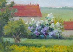 French Fields, painting by artist Pat Fiorello