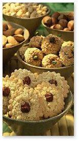 Walnut Macaroons - German Christmas Cookies