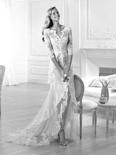 Wedding dress layered skirt - Yaela