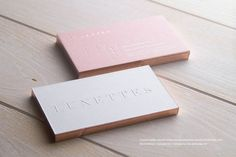 Smooth Uncoated Business Cards | RockDesign Luxury Business Card Printing