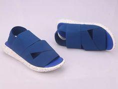 b987853275c2 Mens Womens Adidas Y3 QASA SANDAL Blue White