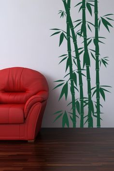 Tall Bamboo Wall Sticker - The extensive bamboo plants pictured along with the diminutive shrubs beneath bring an air of worldly nature inside your homes. Designed to add vigor in your lives, the Tall Bamboo Wall Sticker Art Decal can be best incorporated into living rooms and offices as well. http://walliv.com/tall-bamboo-wall-sticker-art-decal