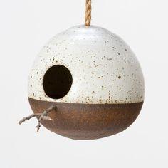 Mineral Birdhouse, Iron in Garden+Outdoor OUTDOOR LIVING Birds+Wildlife at Terrain
