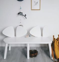 Mouse bench, perfect for the hallway or kids corner