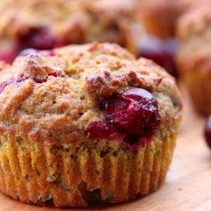 Pumpkin Cranberry Muffins Recipe - Clean & Delicious & ZipList