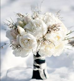 Winter Wedding Ideas - Blooming Beautiful - Click pic for 25 DIY Wedding Decorations | Small Budget Wedding Ideas