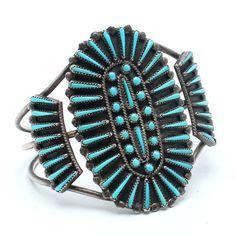 Sky Spirit Vintage Native American Cuff