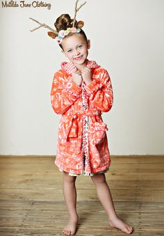 Friends Forever, Fall 2015: Esme Robe and Monet Nightgown