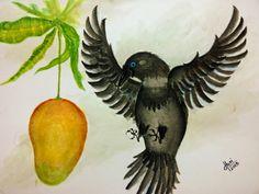 """Kaakaa""   [Watercolor on Paper]"