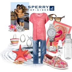 Spring Break with Sperry, created by sharifrench on Polyvore