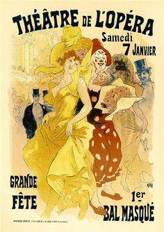 French Posters, Theatre de L'Opera