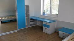 Cílem změn bylo poskytnout dětem příjemné prostředí na studium i hry a nabídnout jim dostatek úložného prostoru.