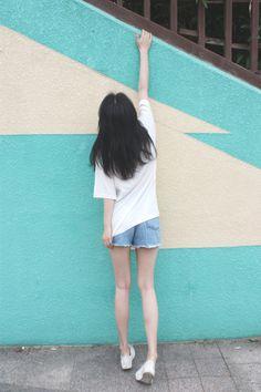 Korean Girl Fashion, Korean Fashion Trends, Aesthetic Body, Aesthetic Girl, Outfits For Teens, Girl Outfits, Figure Photo, Cute Girl Wallpaper, Ulzzang Korean Girl