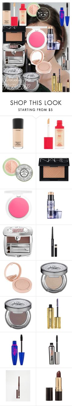 """LILY COLLINS MAKEUP"" by oroartye-1 on Polyvore featuring beauty, MAC Cosmetics, Bourjois, NARS Cosmetics, Topshop, Benefit, Model Co, Urban Decay, tarte and Maybelline"